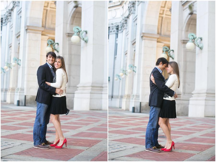 New York City Hall Engagement Session - Destination Engagement Photographer