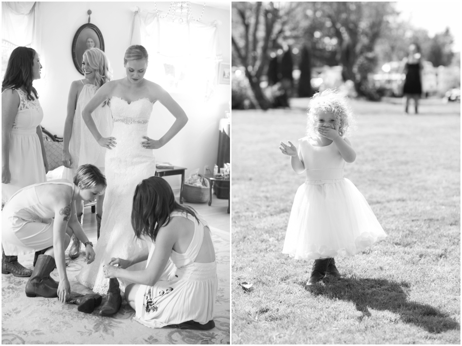 Washington Destination Wedding Photography - Yellow Country Estate bridal portrait