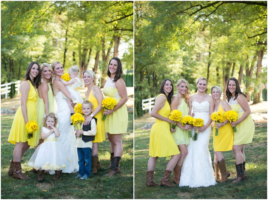 Seattle Destination Wedding Photographer - Wine and Roses Country Estate Wedding Party