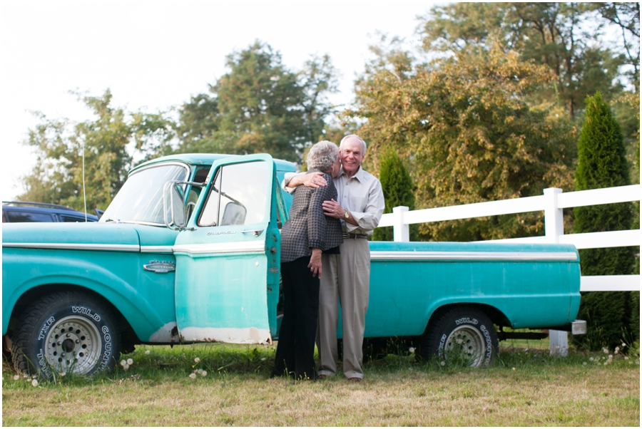 Mint Vintage Truck - Seattle Destination Anniversary Photographer - Wine and Roses Country Estate Anniversary