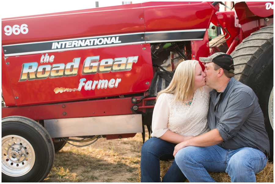 She Thinks my Tractor's sexy - Farm Engagement