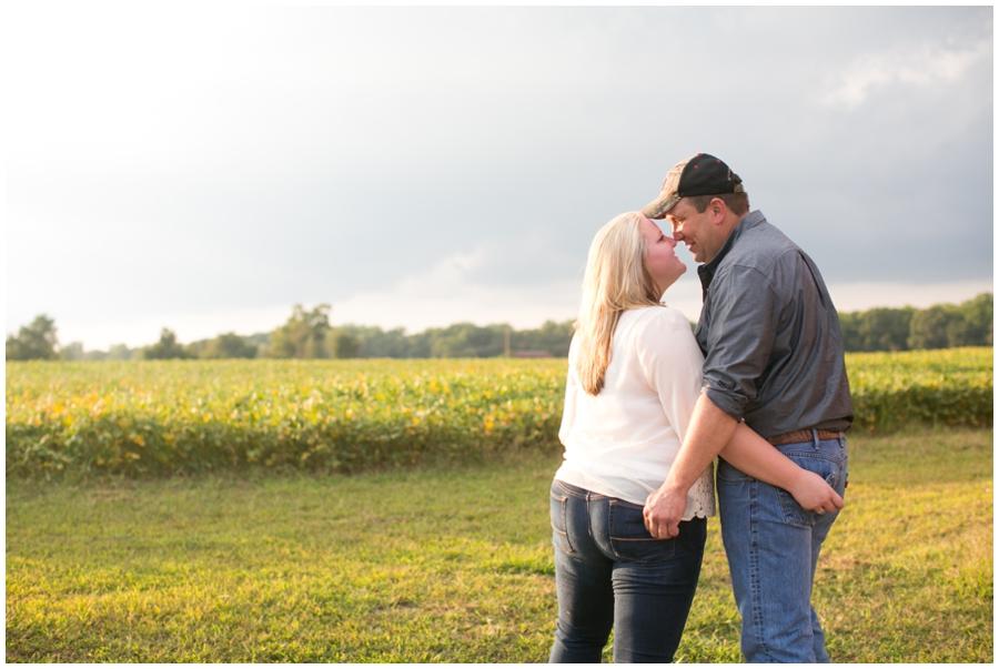 Patuxent River Farm Engagement Session - Traveling Philadelphia Engagement Photographer