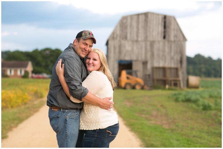 Patuxent River Farm Engagement - Traveling Philadelphia Engagement Photographer