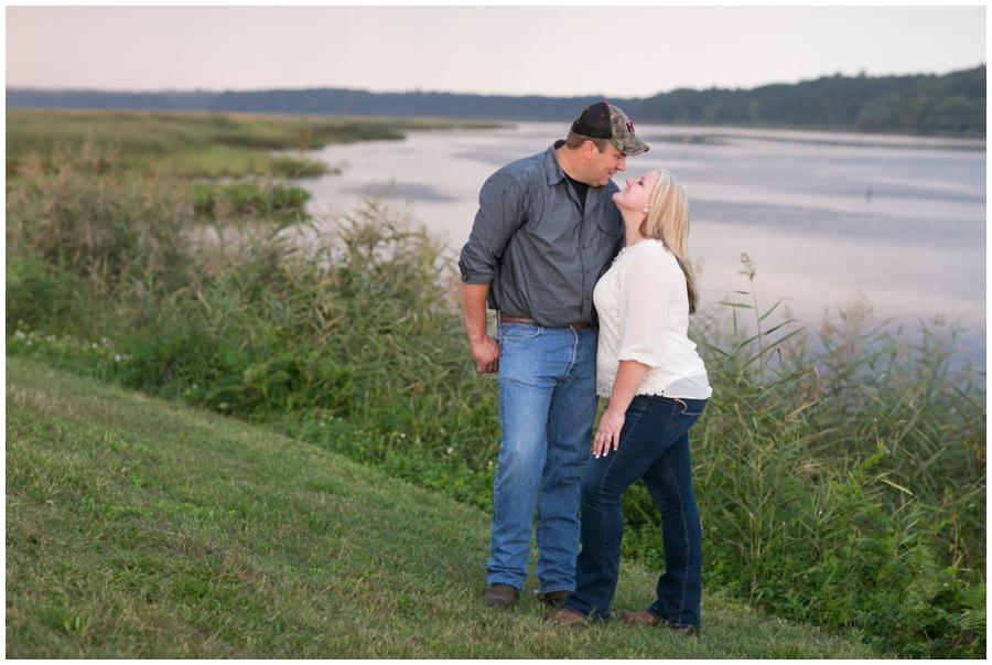 Patuxent River Engagement Photography - Traveling Philadelphia Engagement Photographer