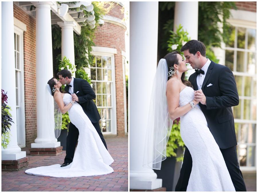 The Tidewater Inn Love Portrait- Eastern Shore Wedding Photographer