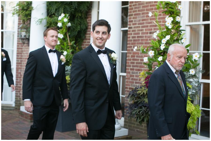 The Tidewater Inn Wedding Ceremony - Philadelphia Destination Wedding Photographer