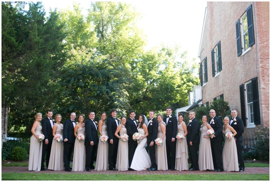 Chic Tidewater Inn Wedding Photographer - Eastern Shore Wedding Photographer