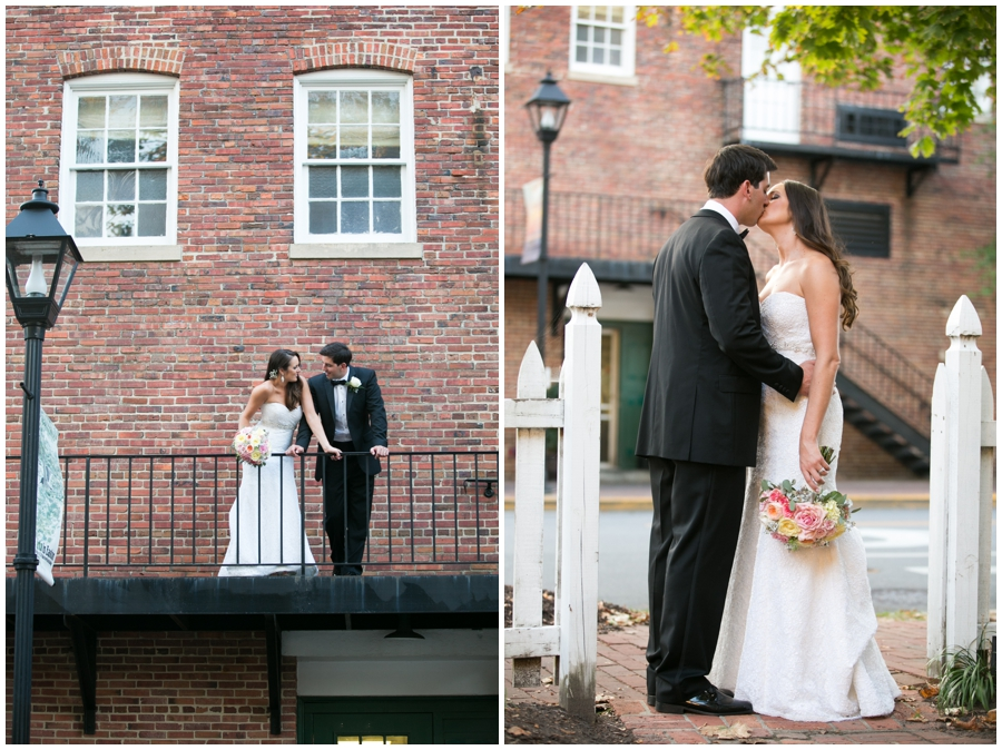 The Tidewater Inn Wedding Couple - Philadelphia Destination Wedding Photographer