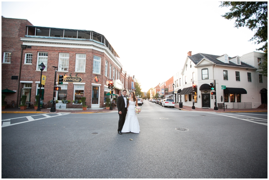 Sunset Tidewater Inn Wedding Couple - Philadelphia Destination Wedding Photographer