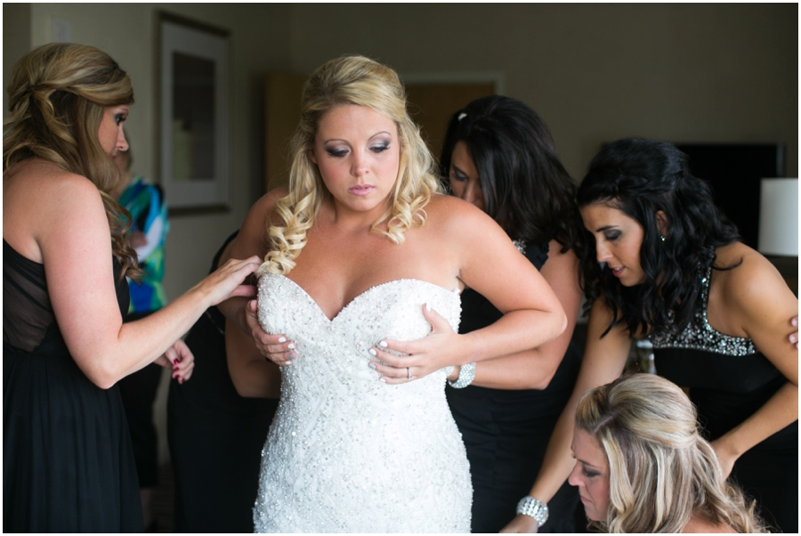 Chesapeake Bay Wedding Photographer - Allure Couture Bridal - Getting Ready