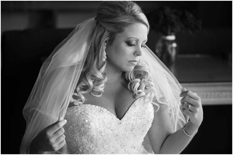 Eastern Shore Wedding Photographer - Allure Couture Bridal Portrait