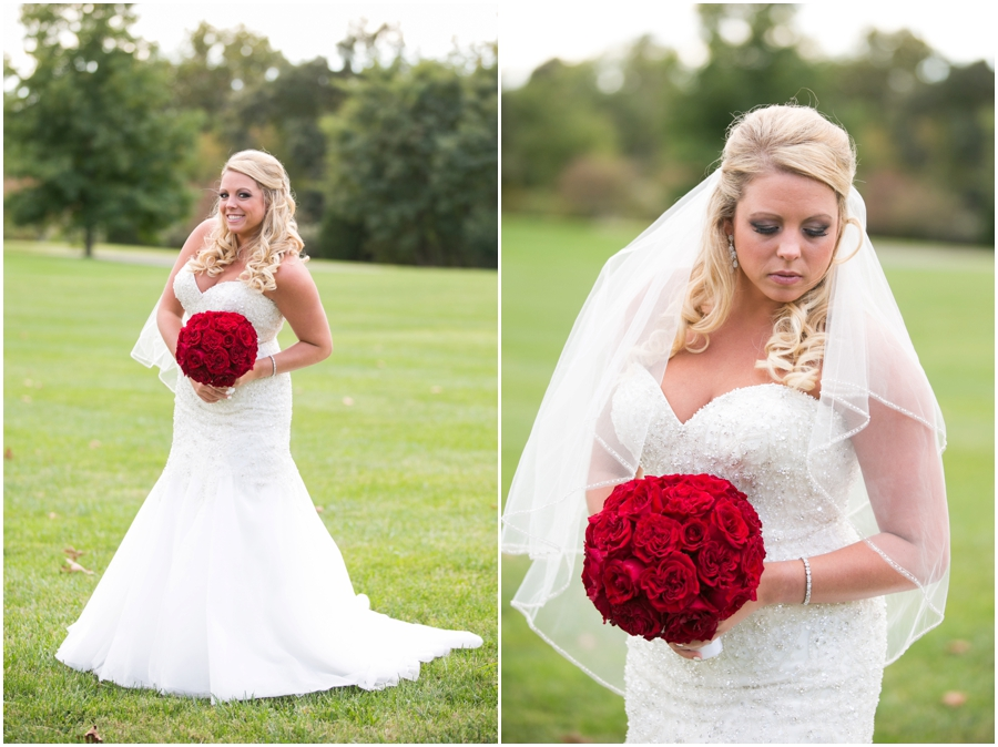 Hyatt Regency Eastern Shore Wedding Photographer - Allure Couture Bridal Portrait