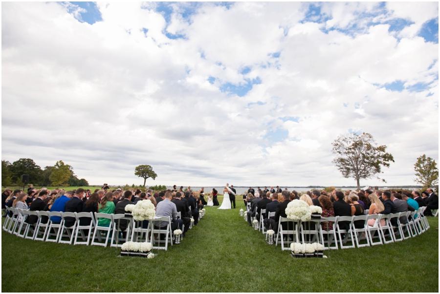Hyatt Regency Chesapeake Bay Outdoor Ceremony Photograph