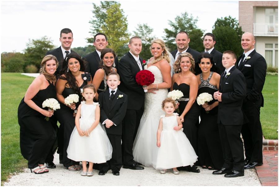 Hyatt Chesapeake Bay Wedding Party Photograph