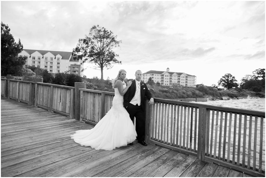 Hyatt Chesapeake Bay Wedding Photographer - Allure Couture Bridal