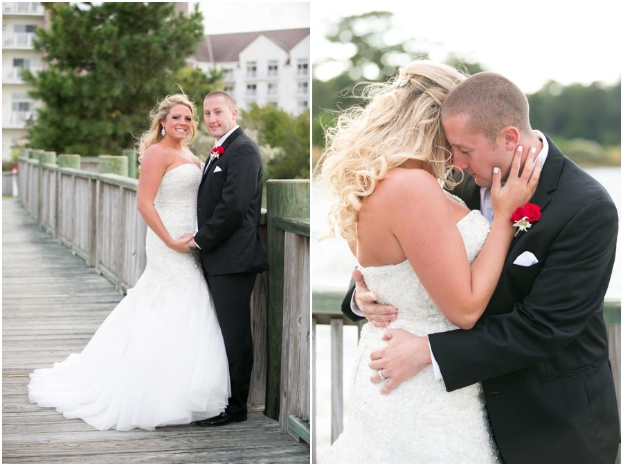 Hyatt Chesapeake Bay Wedding Photographer - Allure Couture Bridal - Studio H Floral & Event Design
