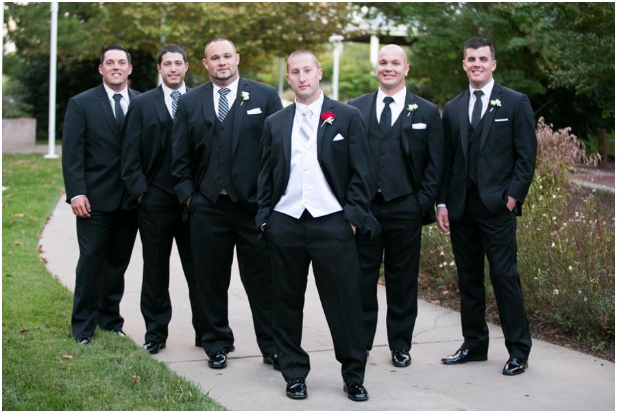 Hyatt Regency Eastern Shore Wedding Photographer - Men's Wearhouse Groomsmen
