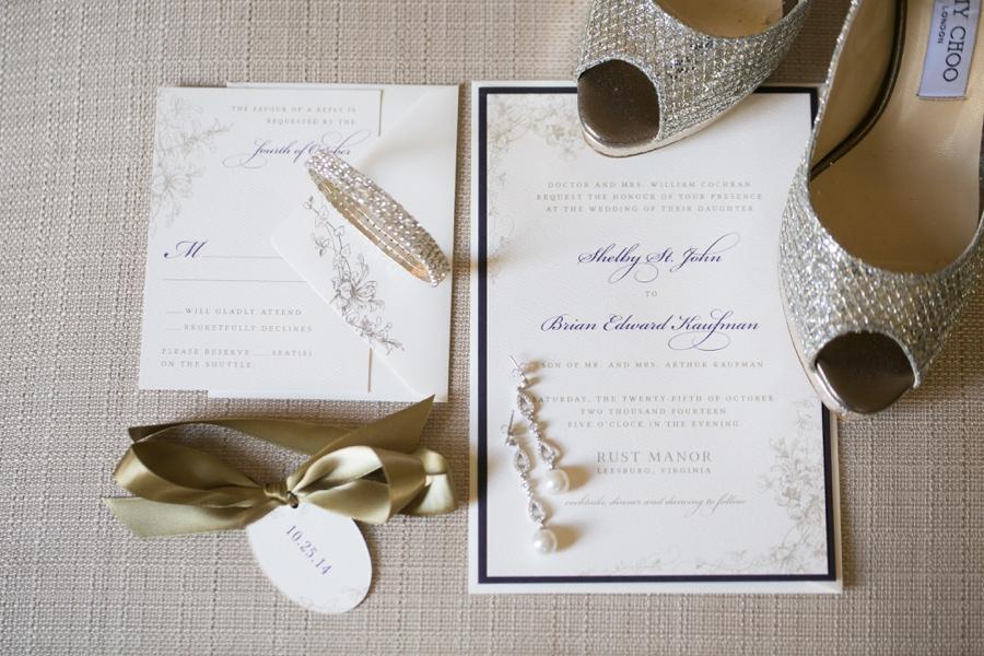 Rust Manor House Leesburg Wedding Details - Elizabeth Bailey Weddings
