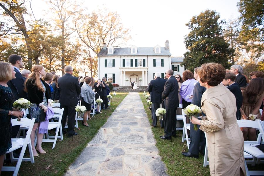 Rust Manor House Leesburg VA Garden Ceremony - Elizabeth Bailey Weddings