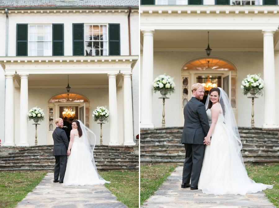 Rust Manor House Leesburg VA Wedding Photographer - Garden Wedding