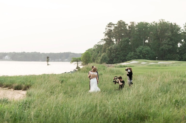 Behind the Scenes at Two Rivers Country Club Williamsburg Wedding