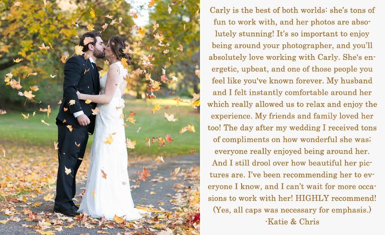 Towson Wedding Photographer - Review