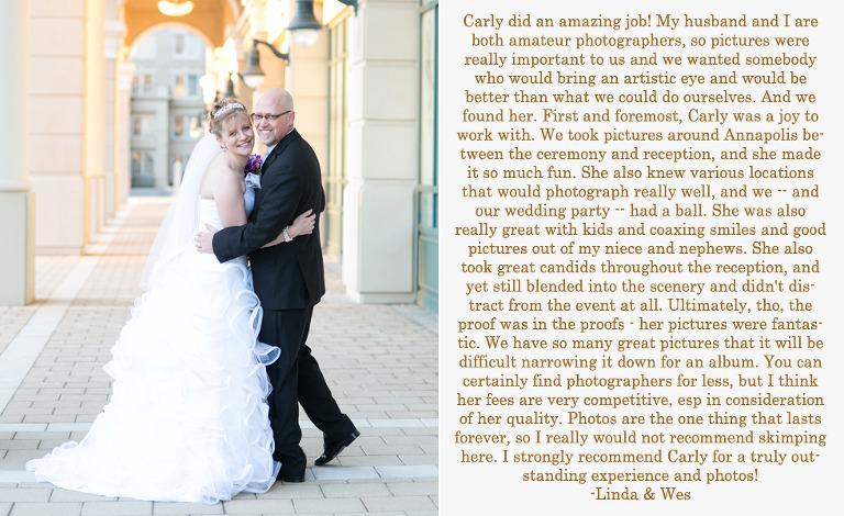 Chesapeake Bay Wedding Photographer - Review