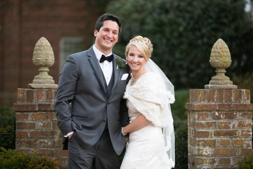 Winter Wedding Photographer - The Tidewater Inn Easton MD