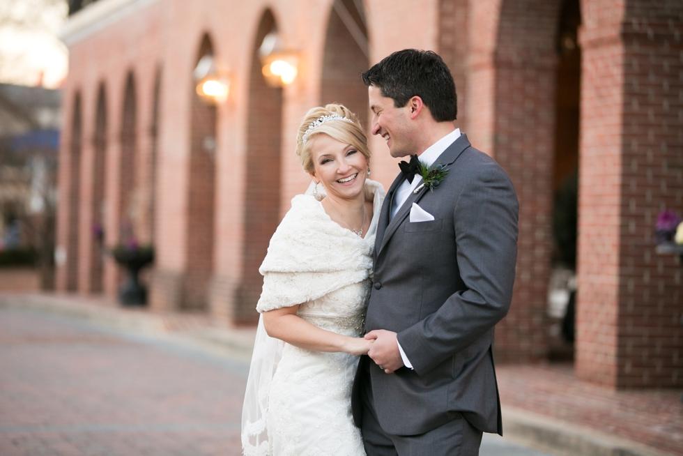 The Tidewater Inn Winter Wedding Photographer - Easton MD