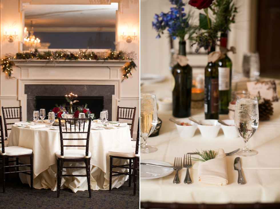 Tidewater Inn Crystal Room - Monteray Farms Floral Design
