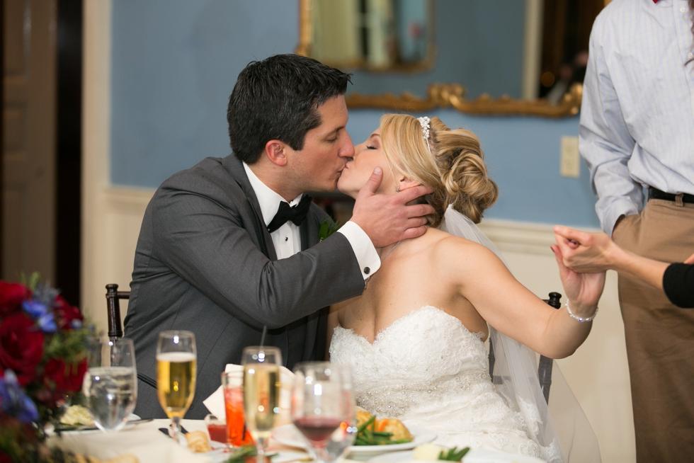 The Tidewater Inn Wedding Reception - Crystal Room