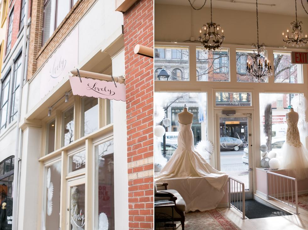 lovely bridal shop philadelphia - Old city wedding photographer