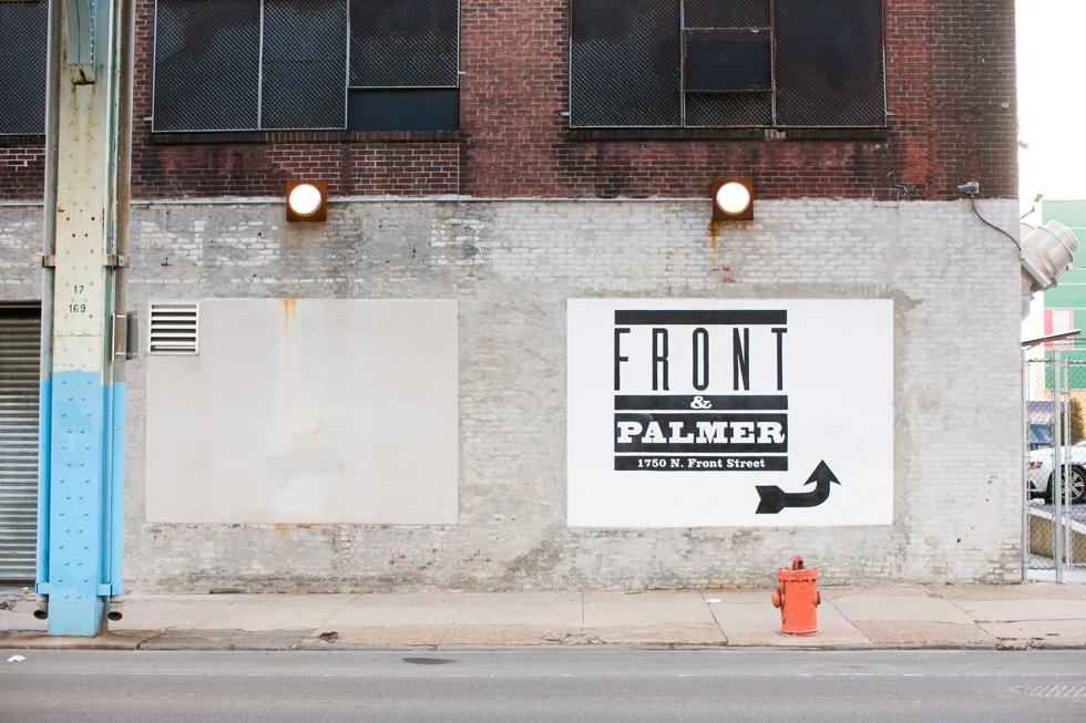 Front & Palmer Wedding - Philadelphia wedding venue