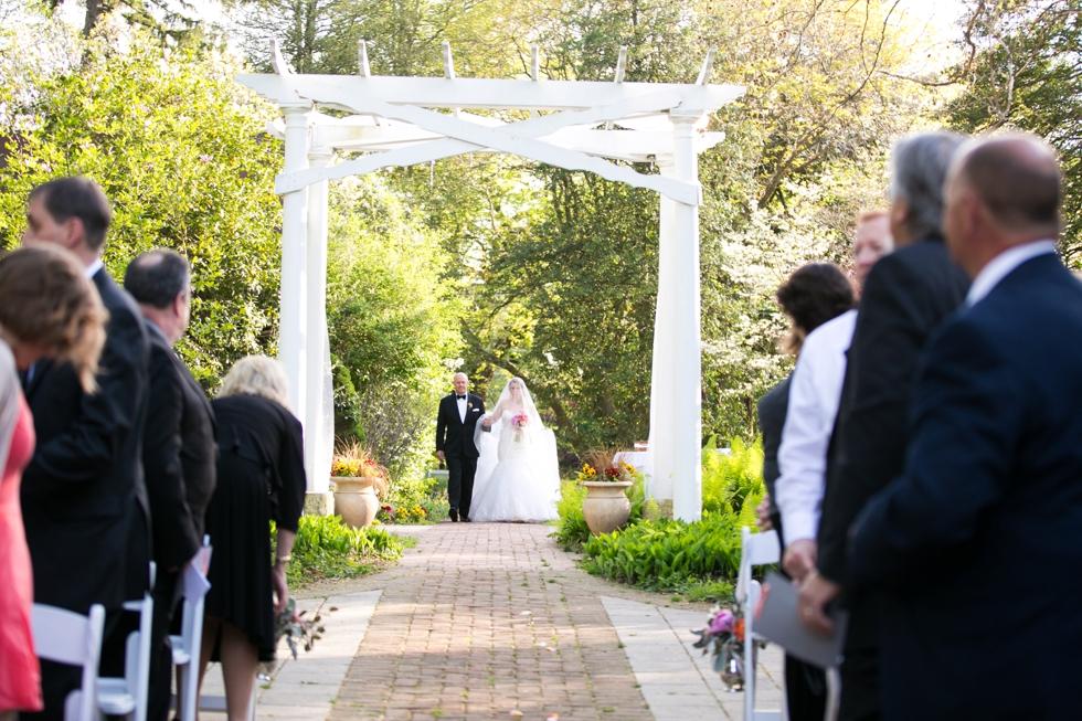 Elkridge Furnace Inn - Philadelphia Wedding Ceremony