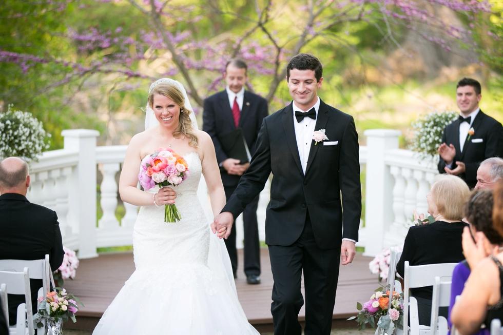 Elkridge Furnace Inn Outdoor Wedding Ceremony