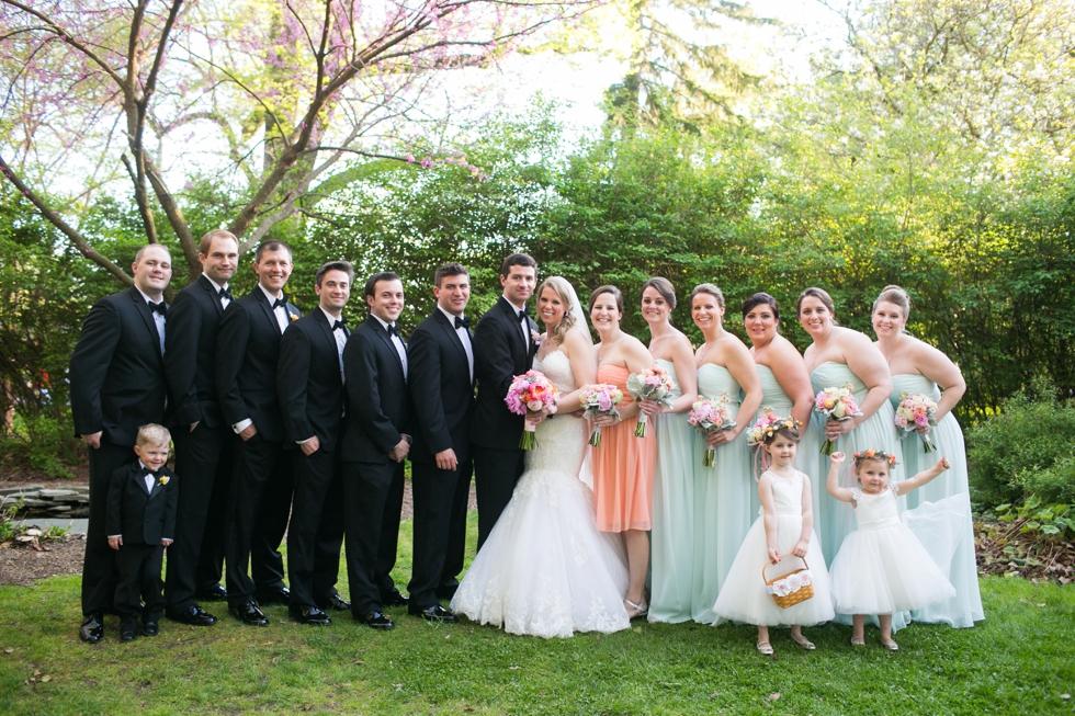 Elkridge Furnace Inn Wedding Party - My flower box events