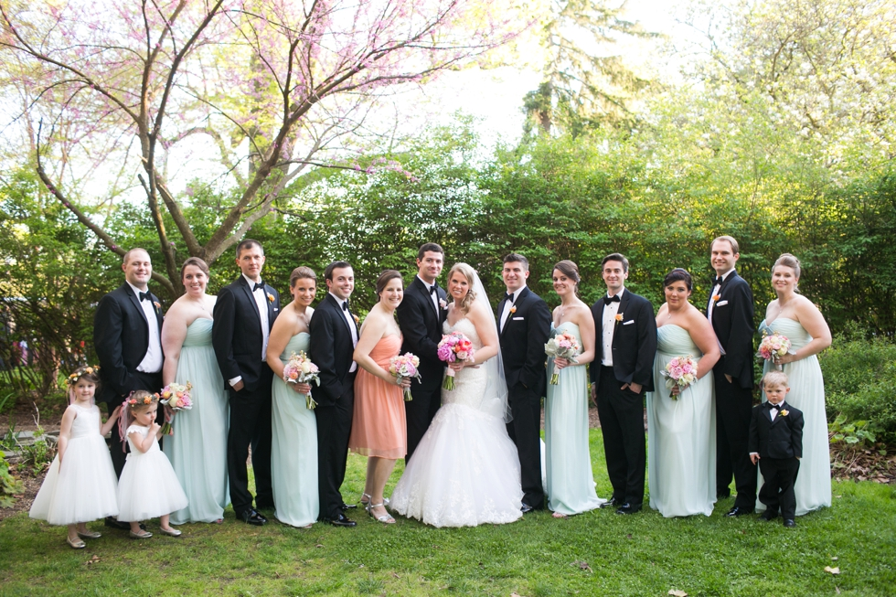 Elkridge Furnace Inn Wedding Party - Kleinfeld