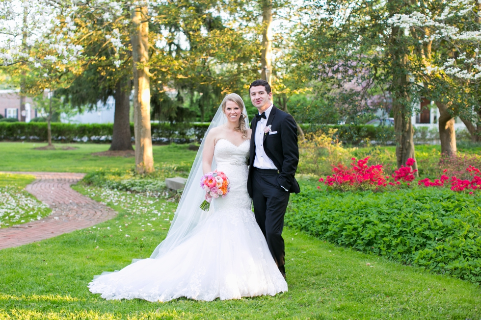 Elkridge Furnace Inn Bride and Groom