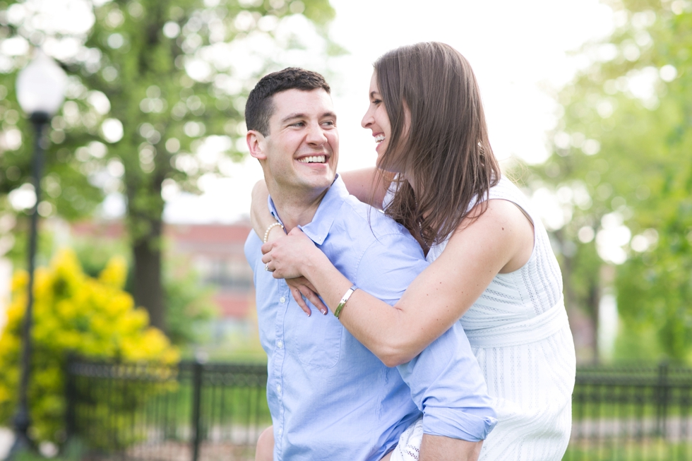 Federal Hill Engagement Photographer