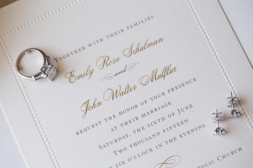 Pleasure of your company - Four Seasons wedding