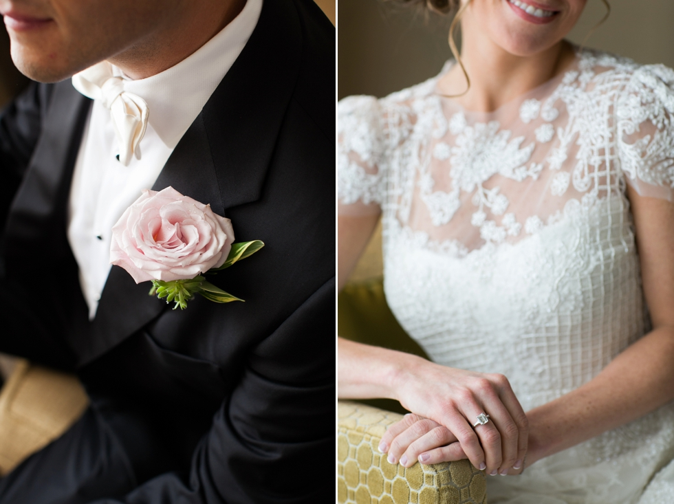 Four Seasons wedding - Tom James Custom Tuxedo