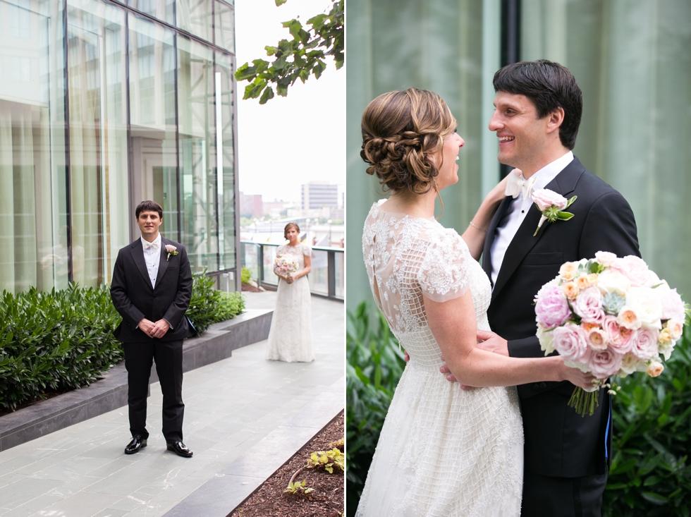 Four Seasons wedding photographer - First Look