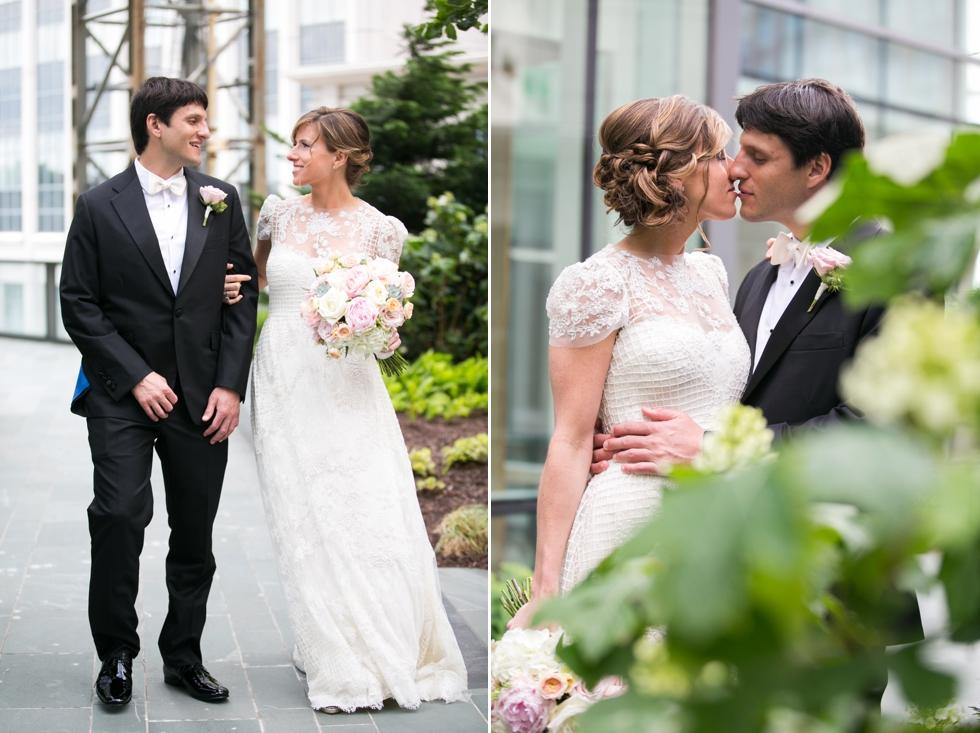 Four Seasons wedding - Monique Lhuillier