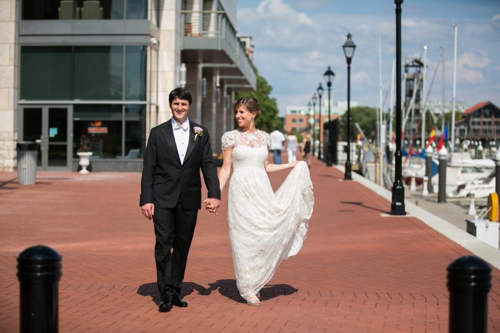 Baltimore Harbor Wedding Photographer