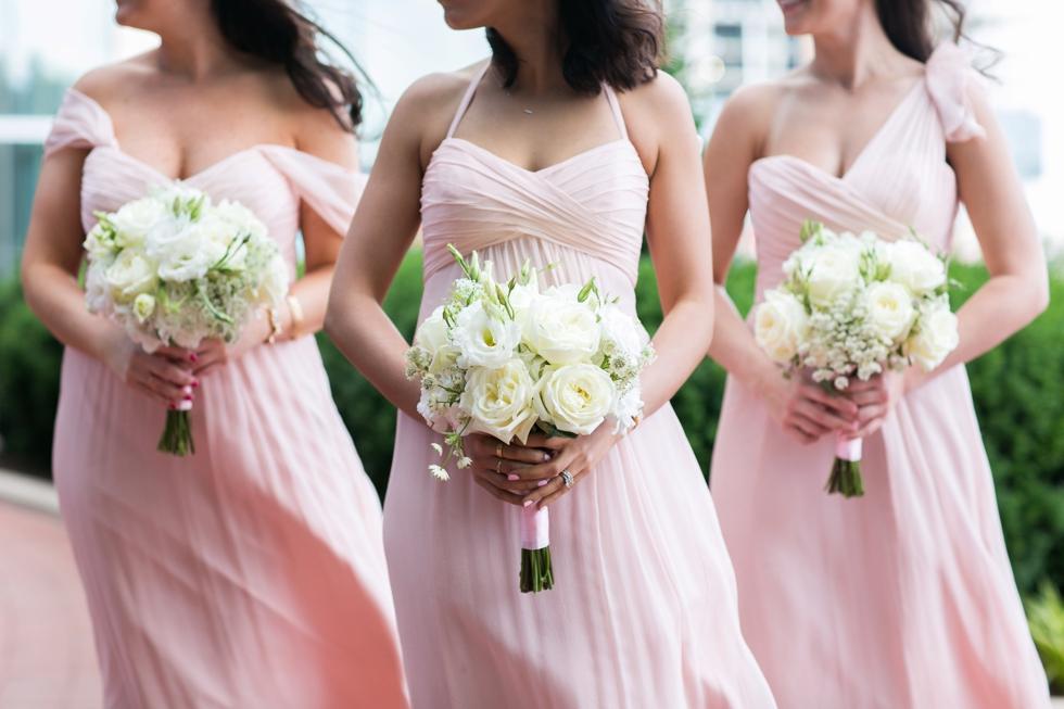 Four Seasons bridesmaid - Amsale Bridal