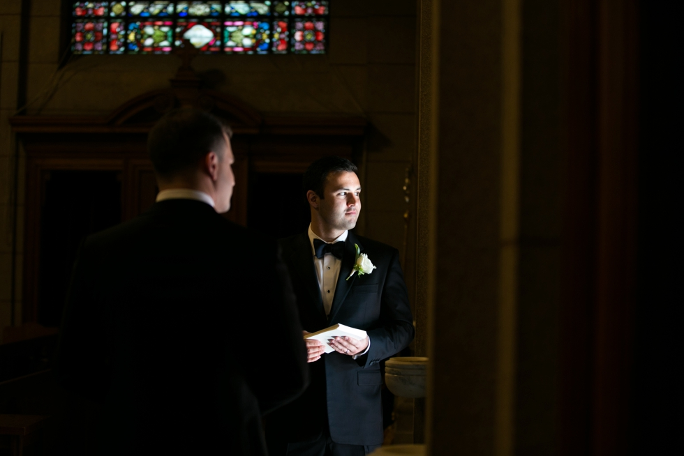 Four Seasons groom - Tom James Custom Tuxedo