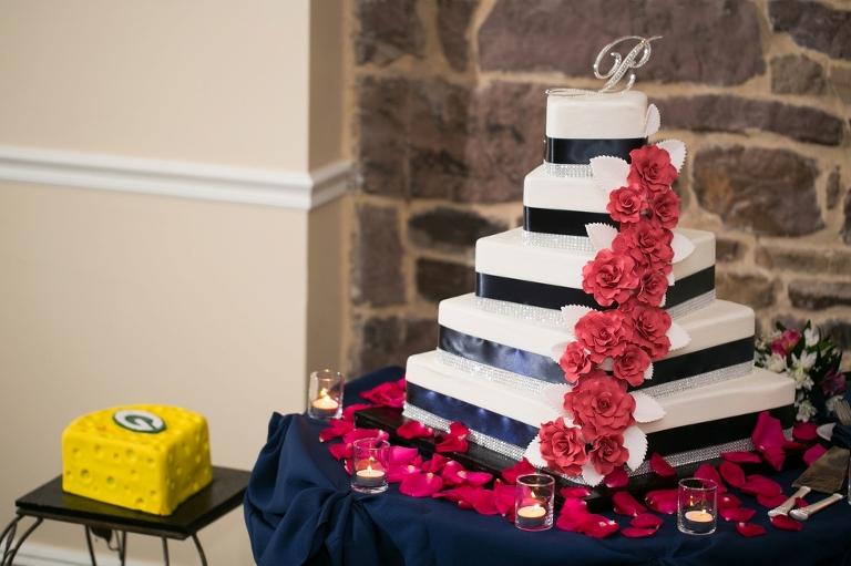 Bredenbecks Bakery Philadelphia Wedding Cake Carly Fuller