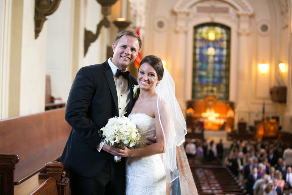 US Naval Academy Chapel wedding Photographer