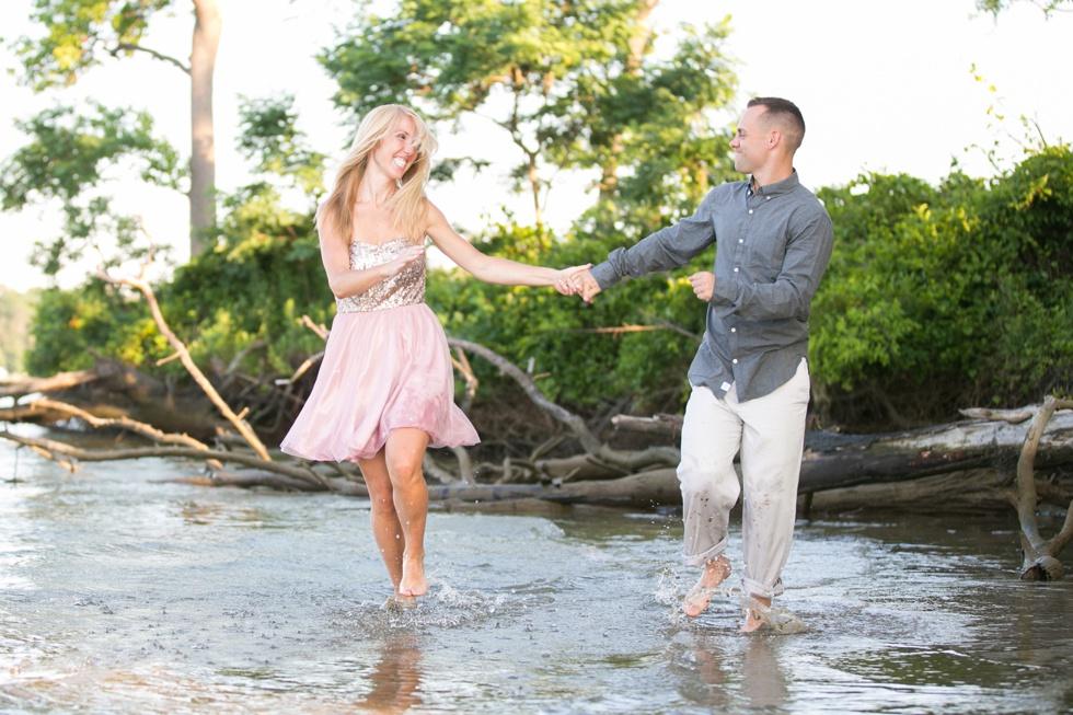 Rhodes River - Island Engagement Photographer