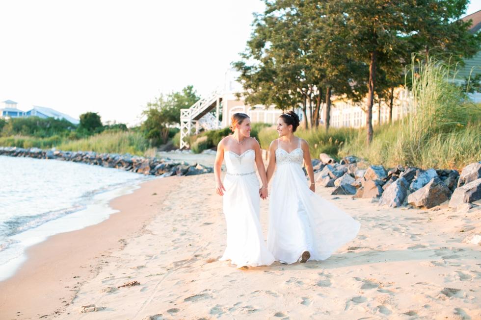 Shore Wedding Photographer - Two Brides Wedding